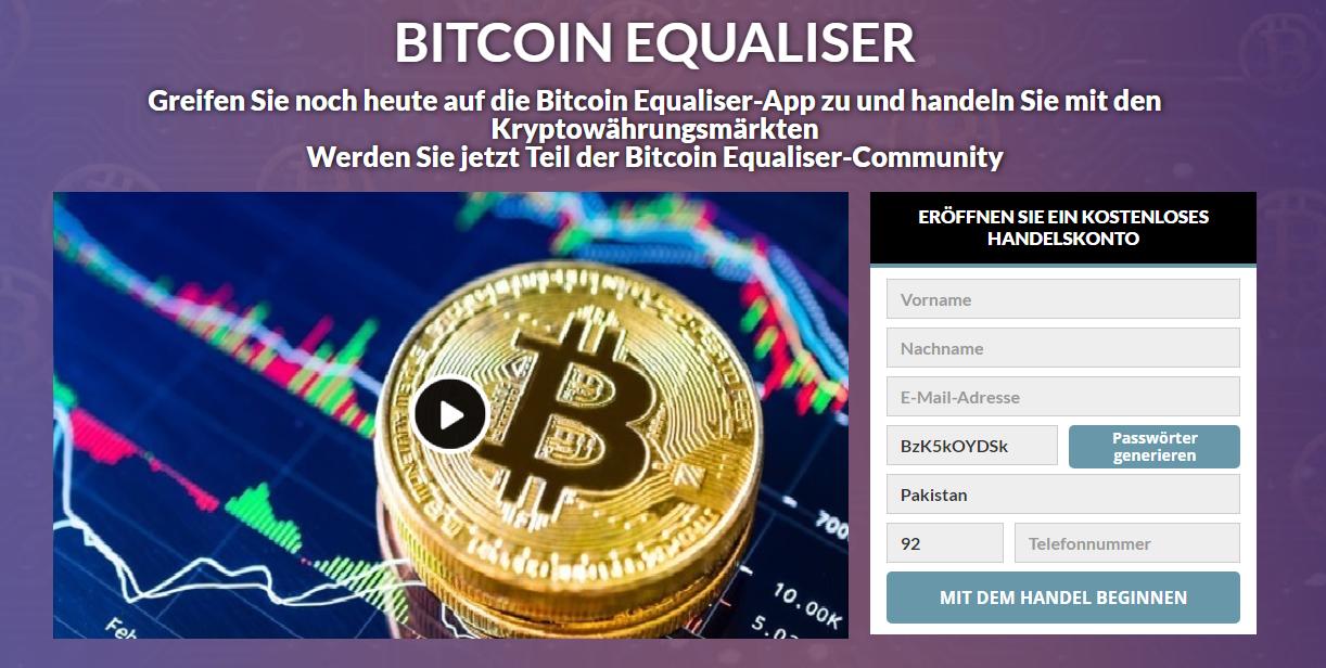 Bitcoin Equaliser Erfahrungen und Test – Ist die App wirklich Betrug?