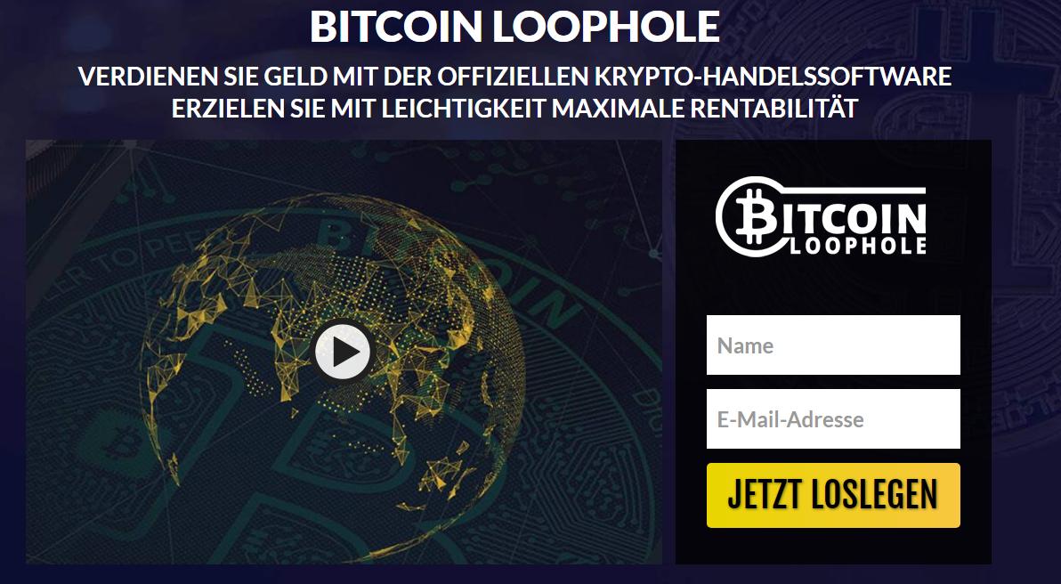 Bitcoin Loophole Erfahrungen und Test – Ist die App wirklich Betrug?