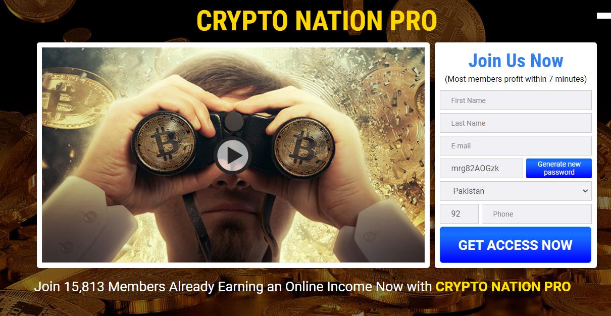 Crypto Nation Pro Erfahrungen und Test – Ist die App wirklich Betrug?