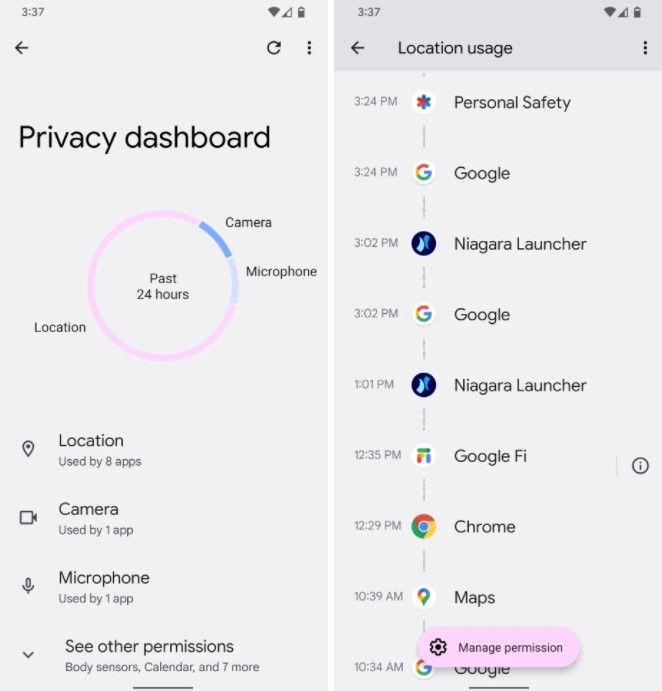 Nutzen Sie die neuen Datenschutzfunktionen in Android 12