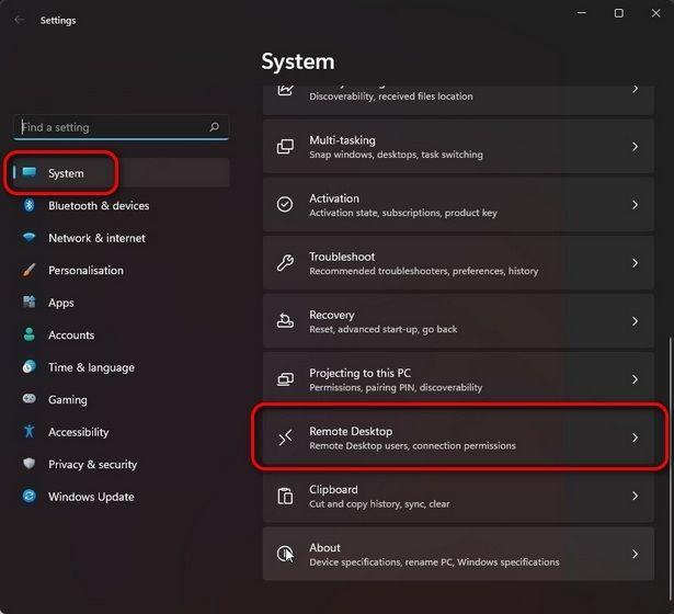So aktivieren Sie den Remote-Desktop in Windows 11