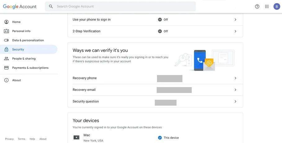 So stellen Sie das Gmail-Konto wieder her, wenn ich keinen Zugriff habe