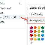 Google-Kalender einrichten und freigeben.