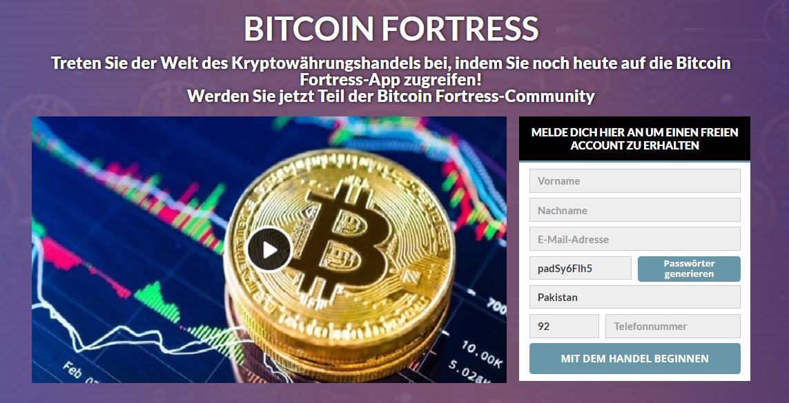 Bitcoin Fortress Review: Legit oder Betrug? Funktioniert es wirklich?