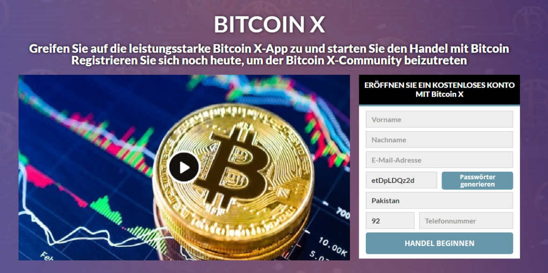 Bitcoin X Review: Legit Oder Betrug? Funktioniert Diese Software Wirklich?